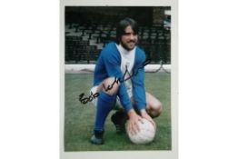 BIRMINGHAM CITY - AUTOGRAPHED PHOTO OF BOB LATCHFORD
