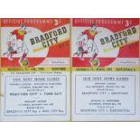 BRADFORD CITY HOMES 1954-55 X 2