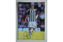 WEST BROMWICH ALBION - GARETH BARRY SIGNED PHOTO