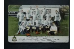 BLACKBURN ROVERS - 1904-05 ORIGINAL POSTCARD