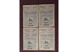 HORSE RACING - HANDICAP & RACING UP-TO-DATE X 4 ALL FROM 1940 4 Consecutive issues dated 6th April