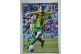 WEST BROMWICH ALBION - CONNOR TOWNSEND SIGNED PHOTO