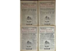 HORSE RACING - HANDICAP & RACING UP-TO-DATE X 4 ALL FROM 1940