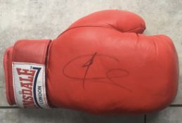 BOXING JOE CALZAGHE AUTOGRAPHED GLOVE COMES WITH COA
