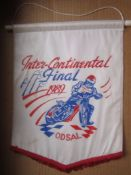SPEEDWAY - 1989 INTERCONTINENTAL FINAL @ ODSAL BRADFORD PENNANT
