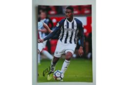 WEST BROMWICH ALBION - RAYHAAN TULLOCH SIGNED PHOTO
