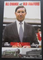 MANCHESTER UNITED - FRANK O'FARRELL AUTOGRAPHED BOOK