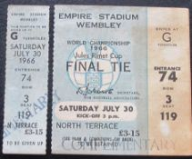 1966 WORLD CUP FINAL COMPETE TICKET