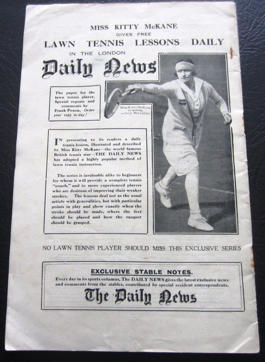 1927 FA CUP FINAL PROGRAMME ARSENAL V CARDIFF CITY - Image 3 of 3