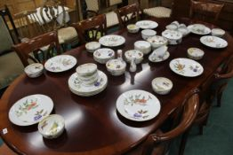 Royal Worcester Evesham pattern part dinner service and small number of similar Alfred Meakin