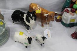 Beswick Highland cow,