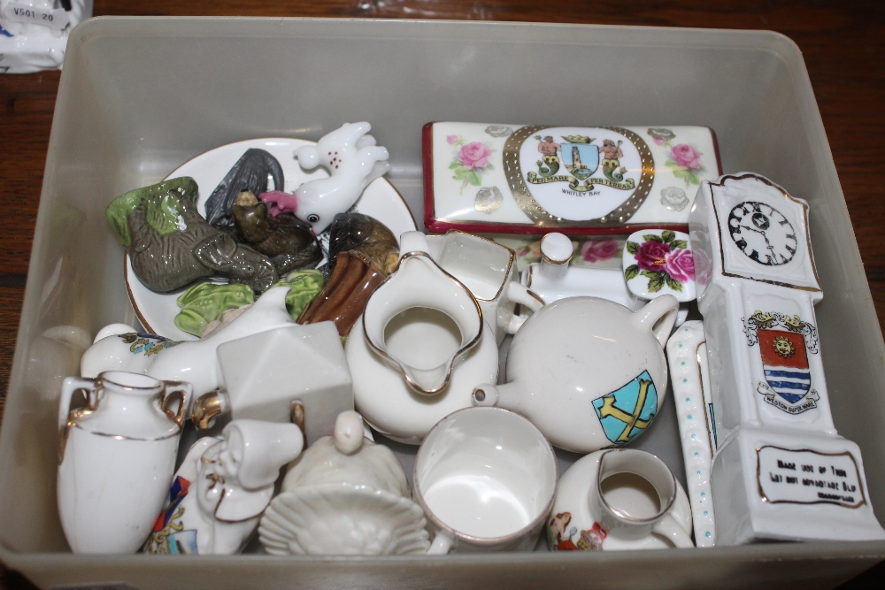A selection of crested wares,wade whimsi - Image 5 of 5