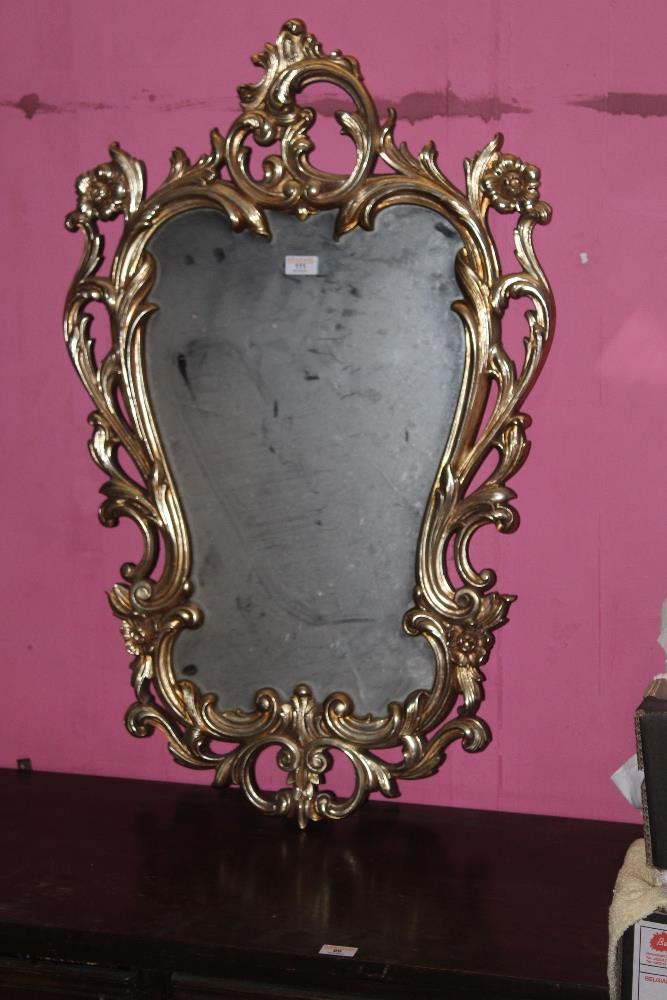 A 20th century reproduction Rococo style
