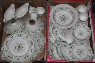 A collection of Royal Doulton Provencal