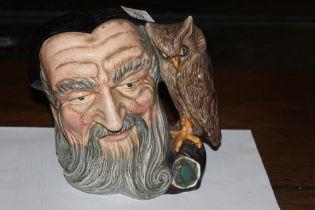 """A Royal Doulton """"Merlin"""", character jug,"""