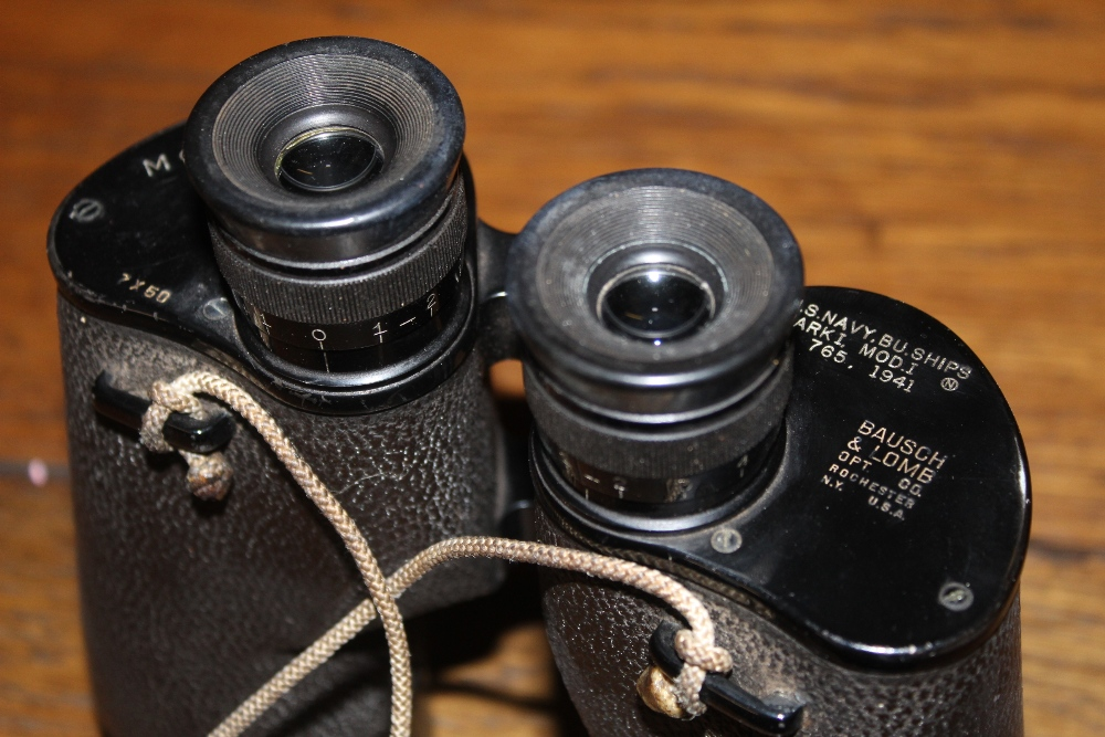 A pair of Bausch & Lomb mark 1 765 US Na - Image 2 of 3