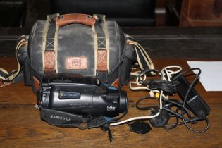 A Samsung mycam K60 video camera recorde