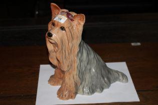 A Royal Doulton Yorkshire Terrier design