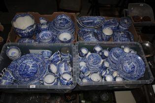 A extensive collection of Copeland Spode