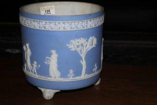 A early 20th century Wedgwood blue Jaspe