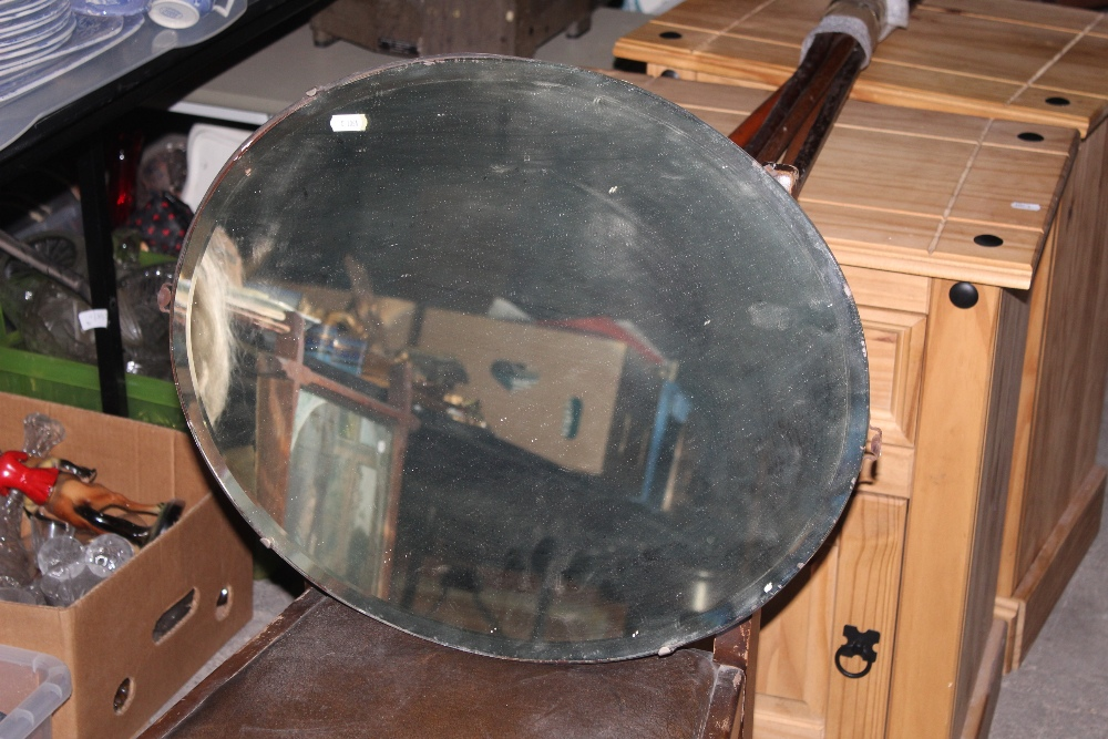 Two early to mid 20th century frameless - Image 3 of 3