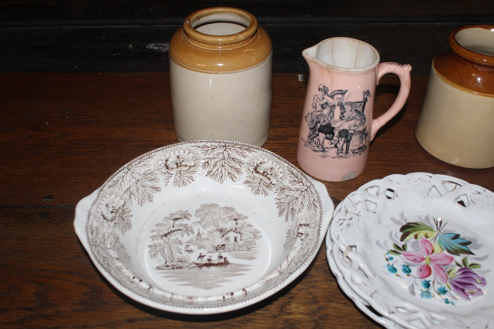 Three boxes of miscellaneous china and p - Image 2 of 5