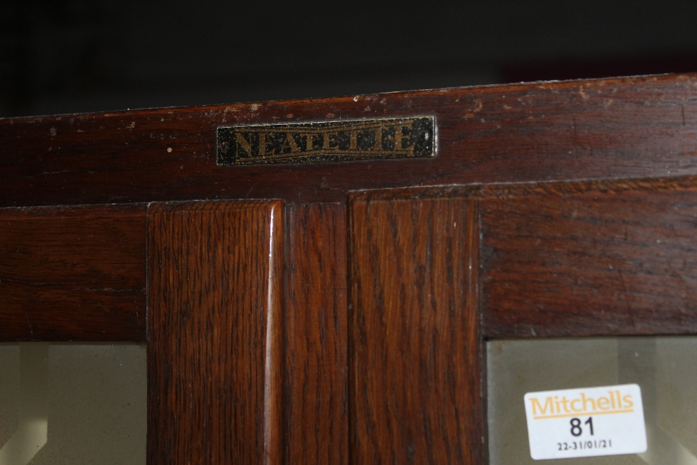 An 1950's oak Neatette kitchenette, with - Image 3 of 3