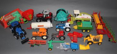 A group lot of Britain's diecast agricultural model vehicles,