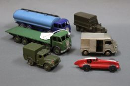 A group lot of Dinky and diecast, comprising a blue Super Toys 504 Foden 14-ton tanker,