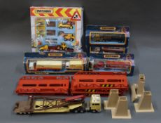 A group lot of Matchbox, comprising a K44 Super Kings bridge lower set,