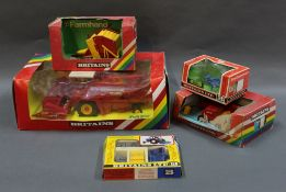 A group lot of Britain's agricultural diecast and plastic models,