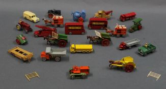 A group lot of Matchbox and Britain's diecast models,