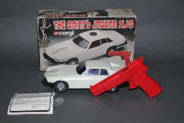"A 1970's Corgi ""The Saints Jaguar XJS"", remote control car,"