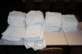 A quantity of towels.
