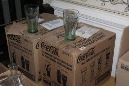 2 boxes of Coca Cola 16 oz genuine Georg