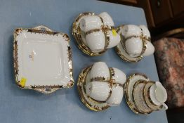 Early 20th century Fenton's of England forty piece tea service