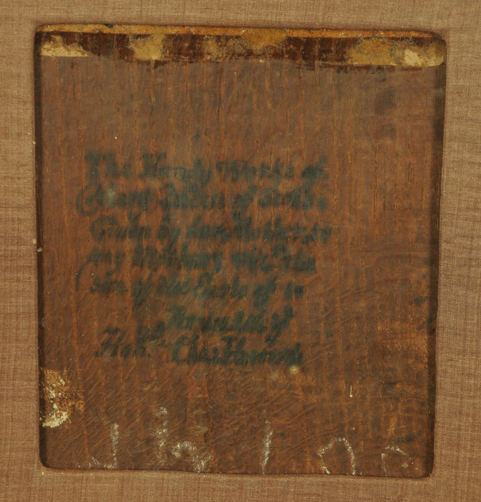 An important 16th century stump work bible cover, reputedly once in the possession of Mary Stuart, - Image 12 of 15