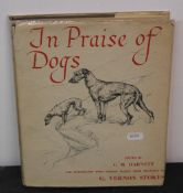 "Harnett (CM), ""In praise of dogs"", illustrated by G."