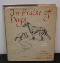 "Harnett (CM), ""In praise of dogs"", illustrated by G."