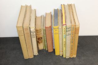 A collection of 14 dog related volumes by Barker (KF) including Rogues Gallery, first edition 1939,