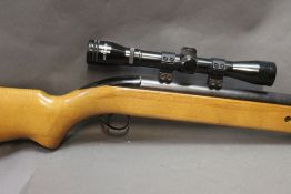 A BSA Airsporter cal 22 underlever air rifle,