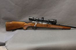 Parker Hale cal 308 bolt action rifle, fitted with an ASI 3-9 x 40 telescopic sight,