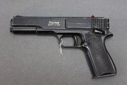 Diana repeater Cal 177 BB air pistol. No visible Serial No.