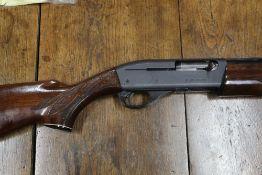 "A Remington 11-87 special purpose five shot semi automatic shotgun, with 27 1/2"" multi choke barrel,"