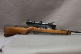 Ruger 10/22 carbine, cal 22 LR semi automatic rifle,