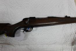 BSA cal 22-250 bolt action Stutzen bolt action rifle. Serial No. 15R2904.