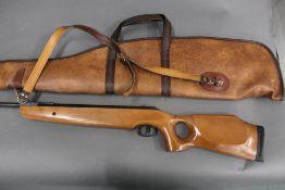 SMK Model TH208 cal 177 break barrel air rifle, with thumb hole stock, no visible Serial No.