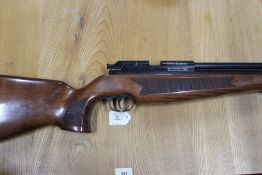 A BSA Hornet Cal 22 pre charged air rifle, Serial No. 2B 3333. FIREARMS CERTIFICATE REQUIRED.