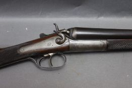 """William Ford a 12 bore side by side hammer shotgun, with 28"""" steel barrels,"""
