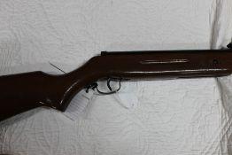 A Westlake (SMK) cal 22 break barrel air rifle, Serial No 110100748.